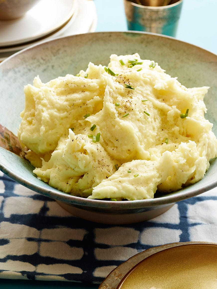 Mascarpone Mashed Potatoes are hands down, the only mashed potato recipe you'll ever need! Perfect for Thanksgiving or any time for that matter!