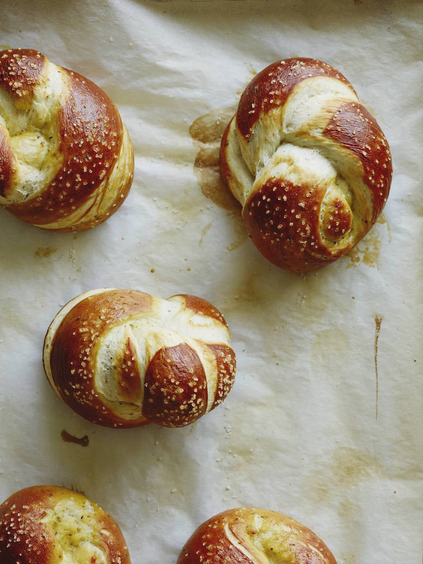 Parmesan Pretzel Knots Recipe
