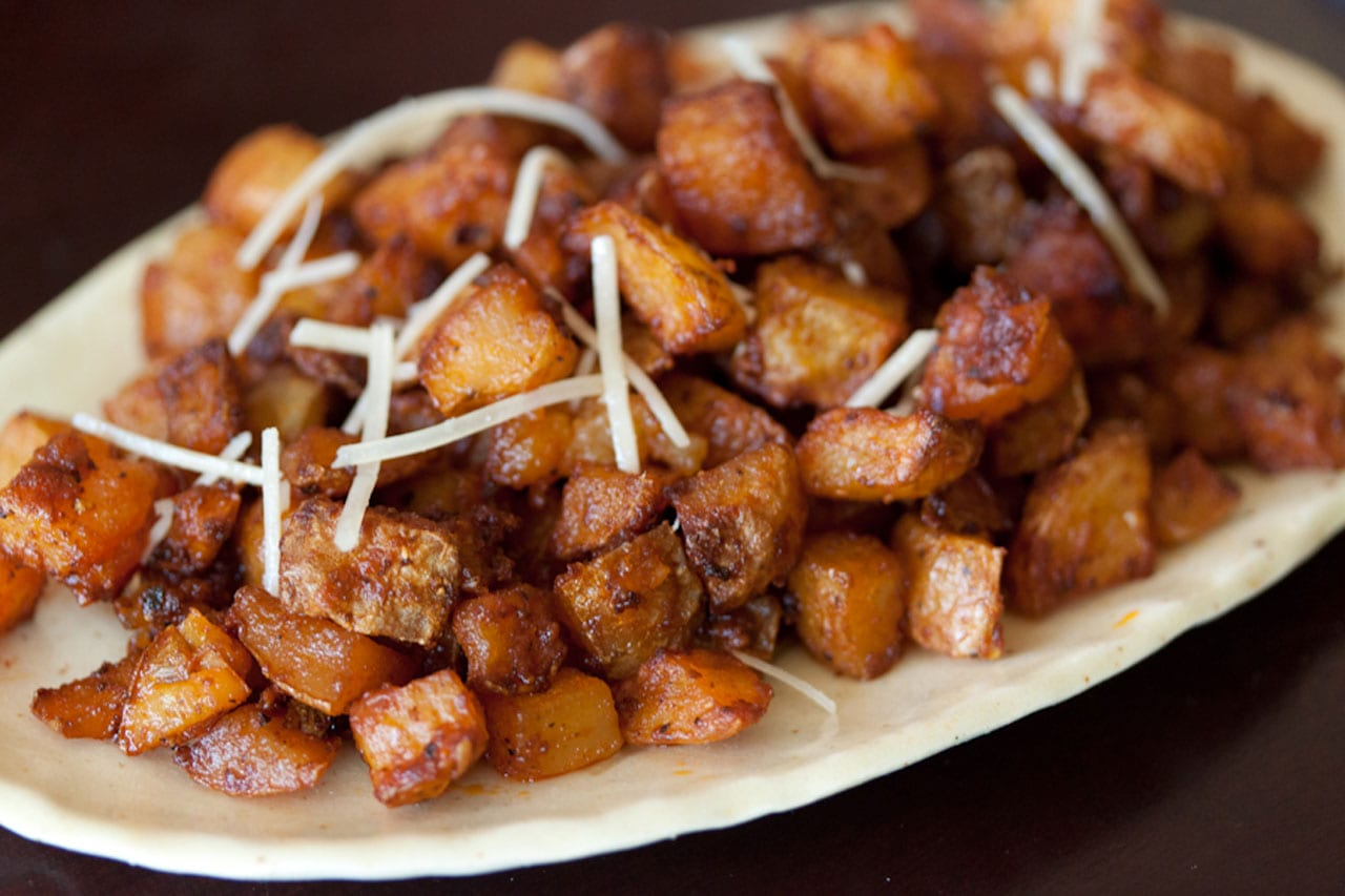 Parmesan Roasted Potatoes Recipe | Memento Vivere