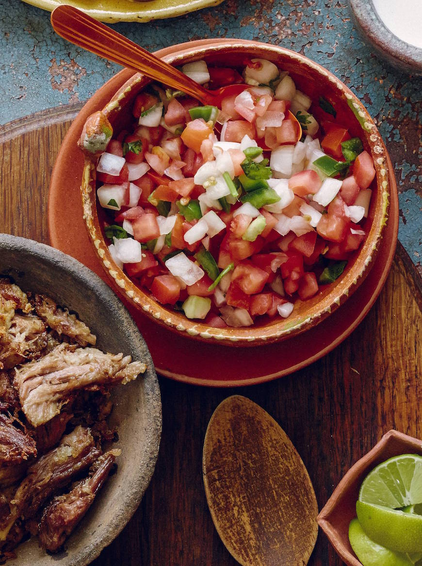 Pico de Gallo from www.whatsgabycooking.com (@whatsgabycookin)