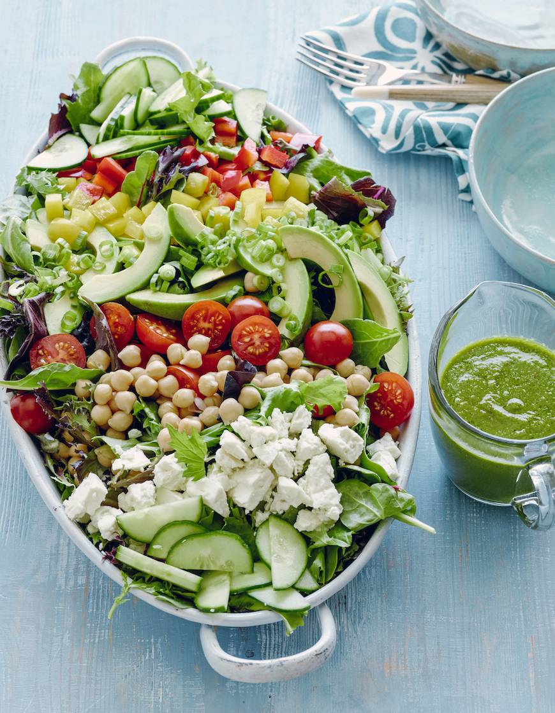 Loaded Power Salad  / Healthy Recipes to Kick Start 2015