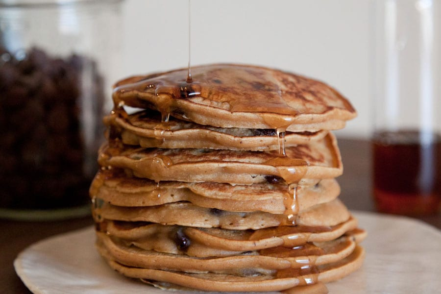 Pumpkin Pie Chocolate Chip Pancake Recipe