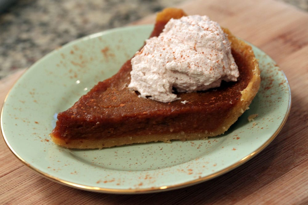 Classic Pumpkin Pie With Cinnamon Whipped Cream Recipes — Dishmaps