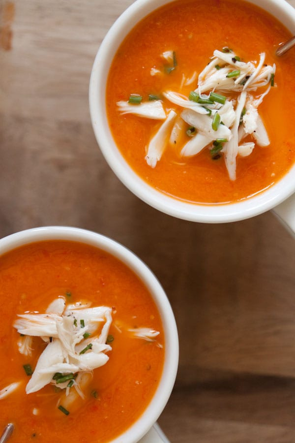 roasted tomato soup tomato parmesan croutons roasted red pepper soup ...