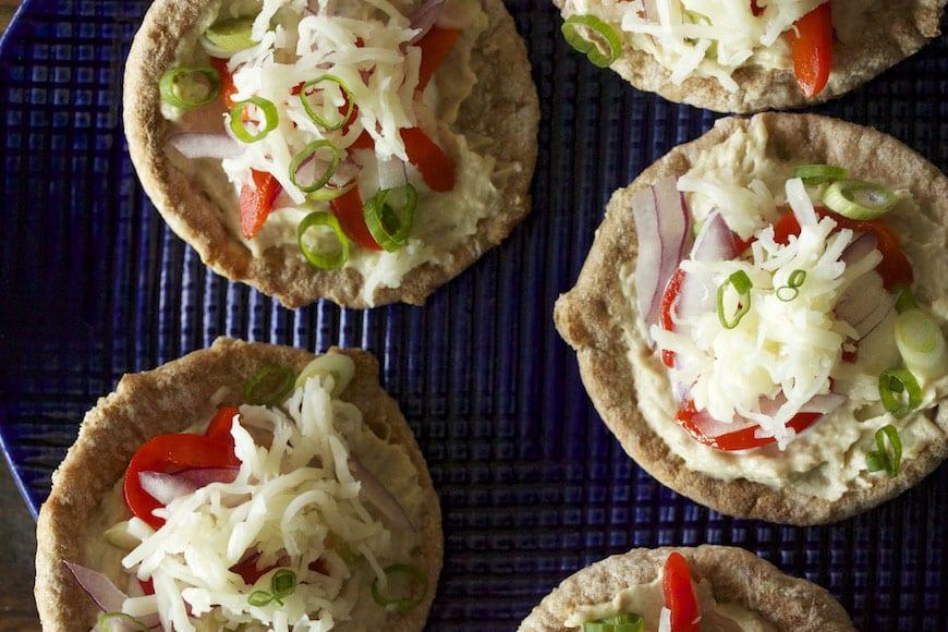 Sabra Hummus Pizzettes