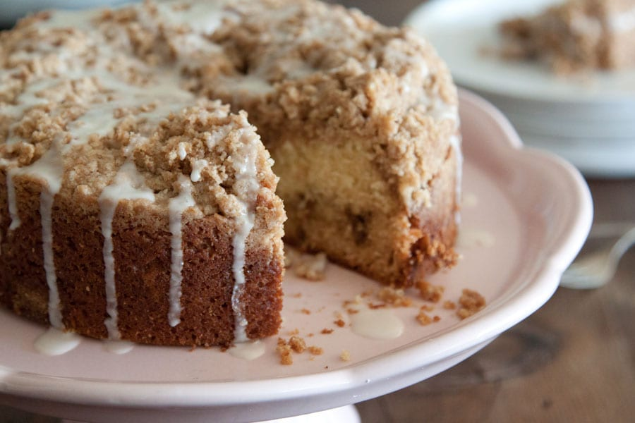 ... streusel sour cream orange coffee cake with chocolate pecan streusel