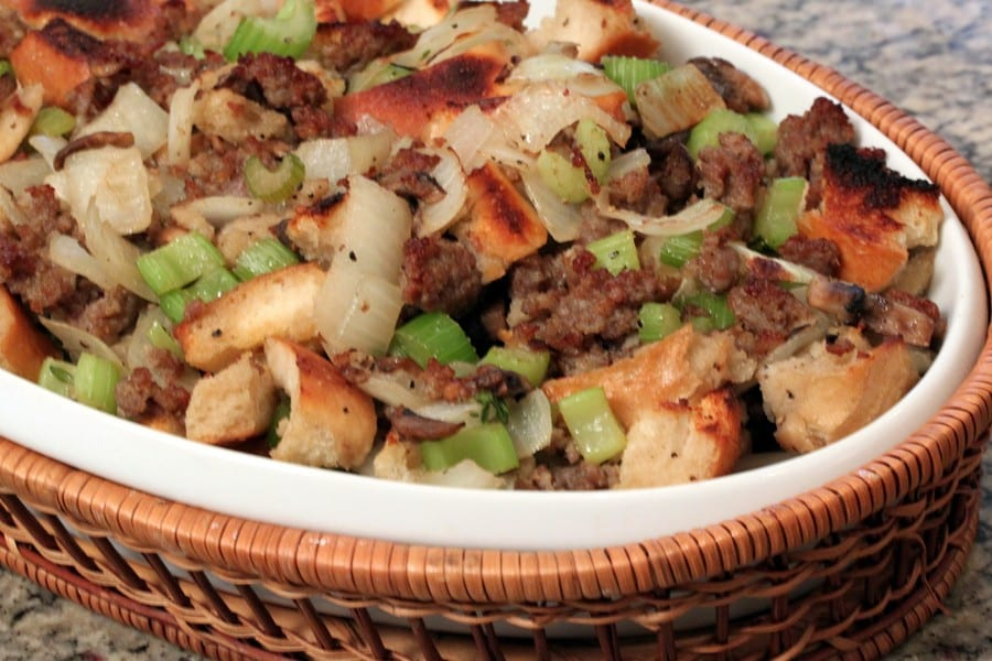 Sausage-Sourdough-Stuffing