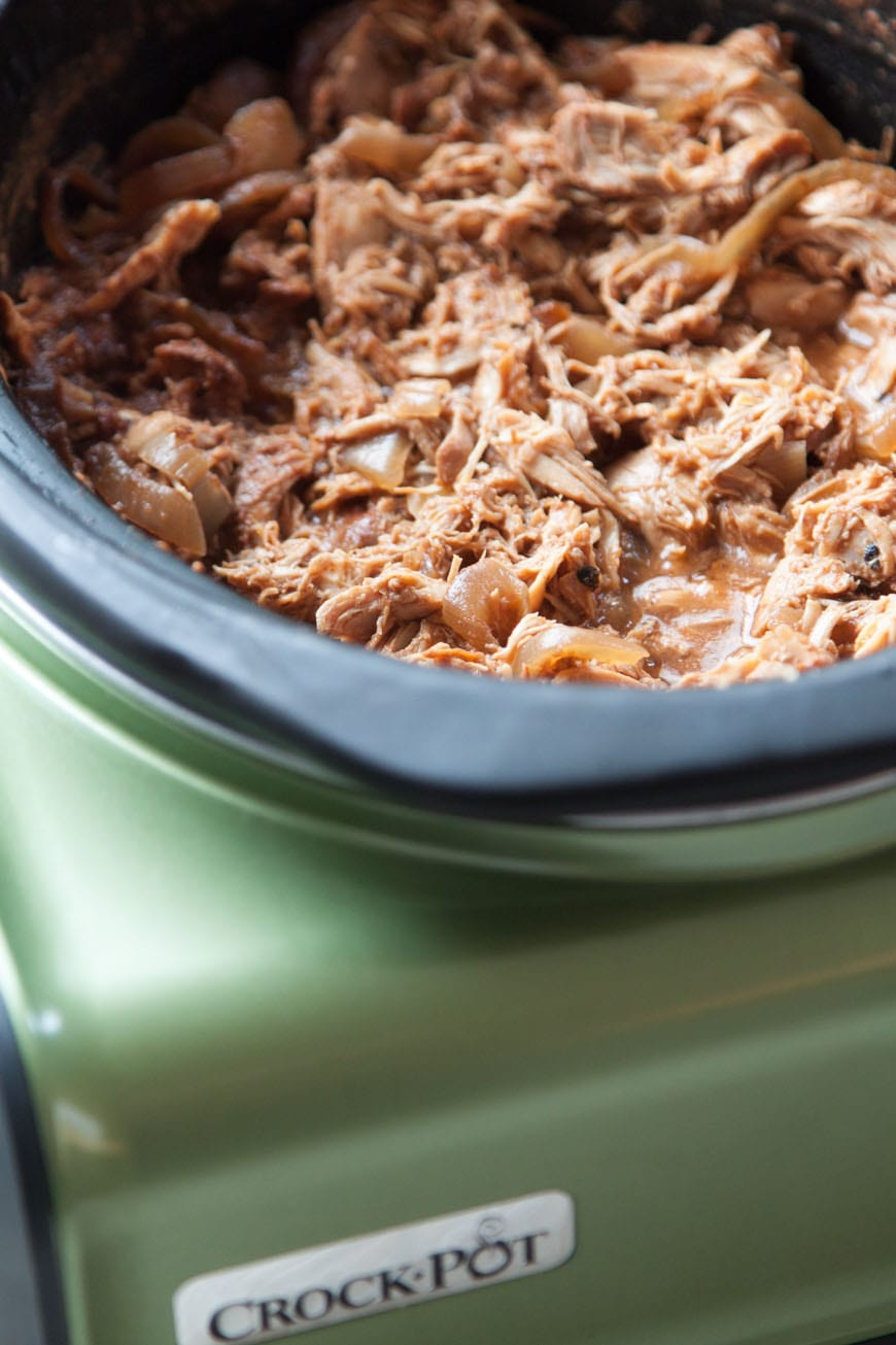 Foolproof Shredded BBQ Chicken