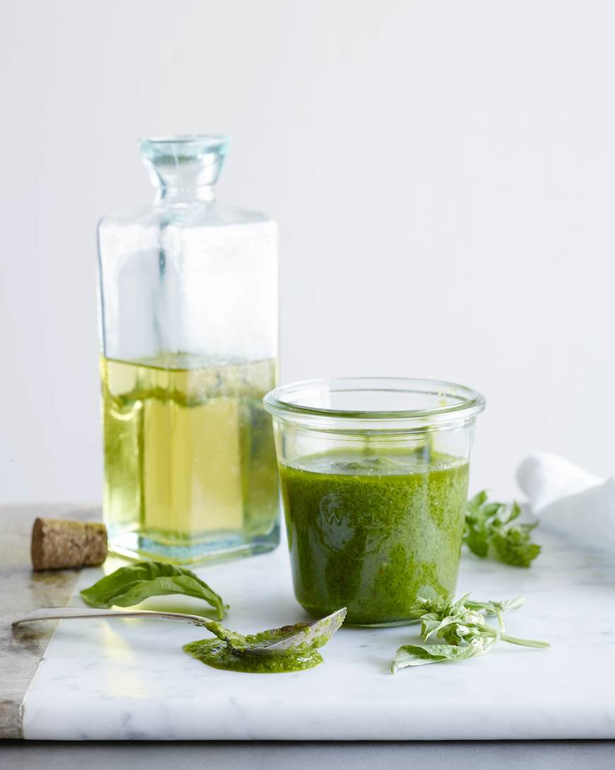 Basil Vinaigrette / What's Gaby Cooking