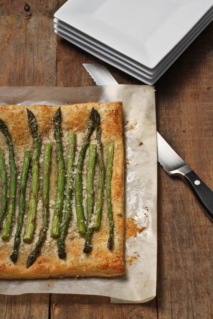 Skinny Asparagus Tart