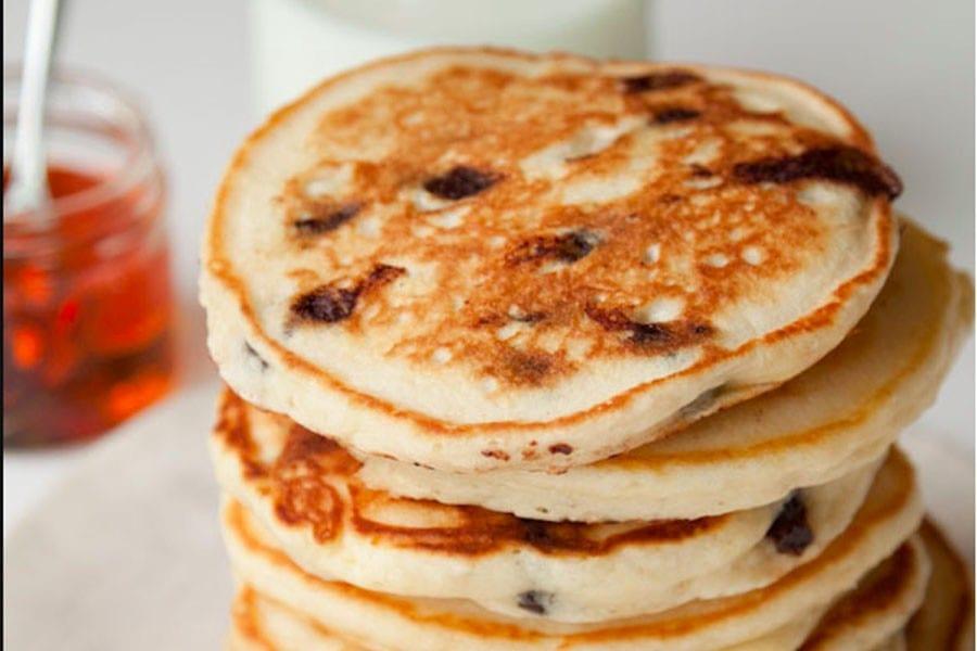 Sour Cream CC Pancakes