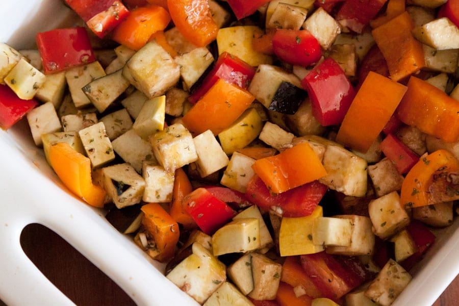 Spiced Balsamic Marinated Vegetables