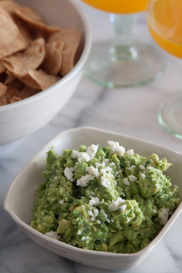 Spicy Cheesy Guacamole