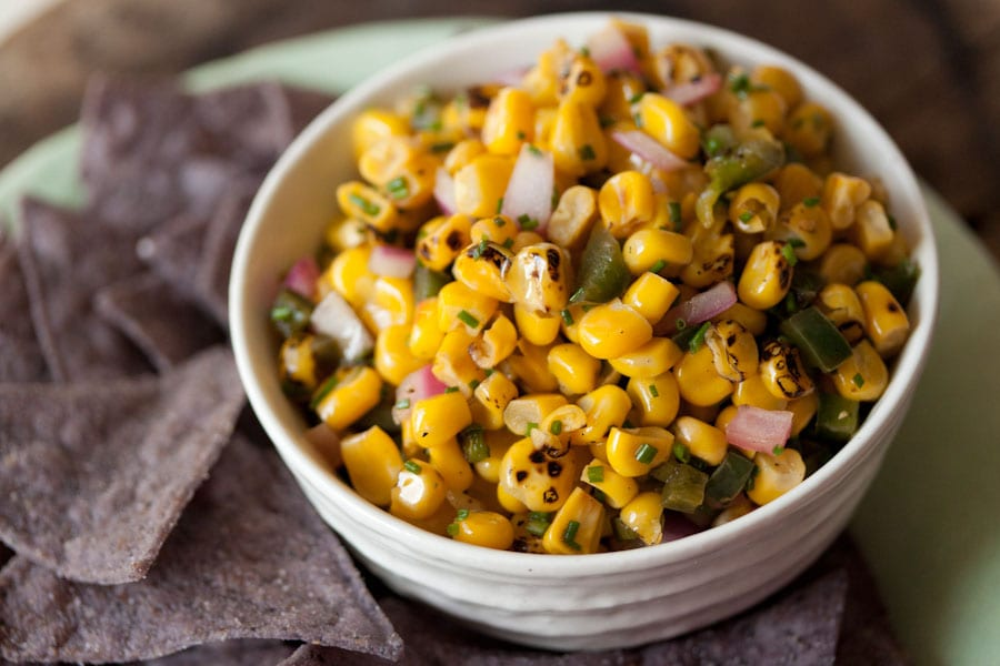 Summer Fest: Spicy Corn Salsa