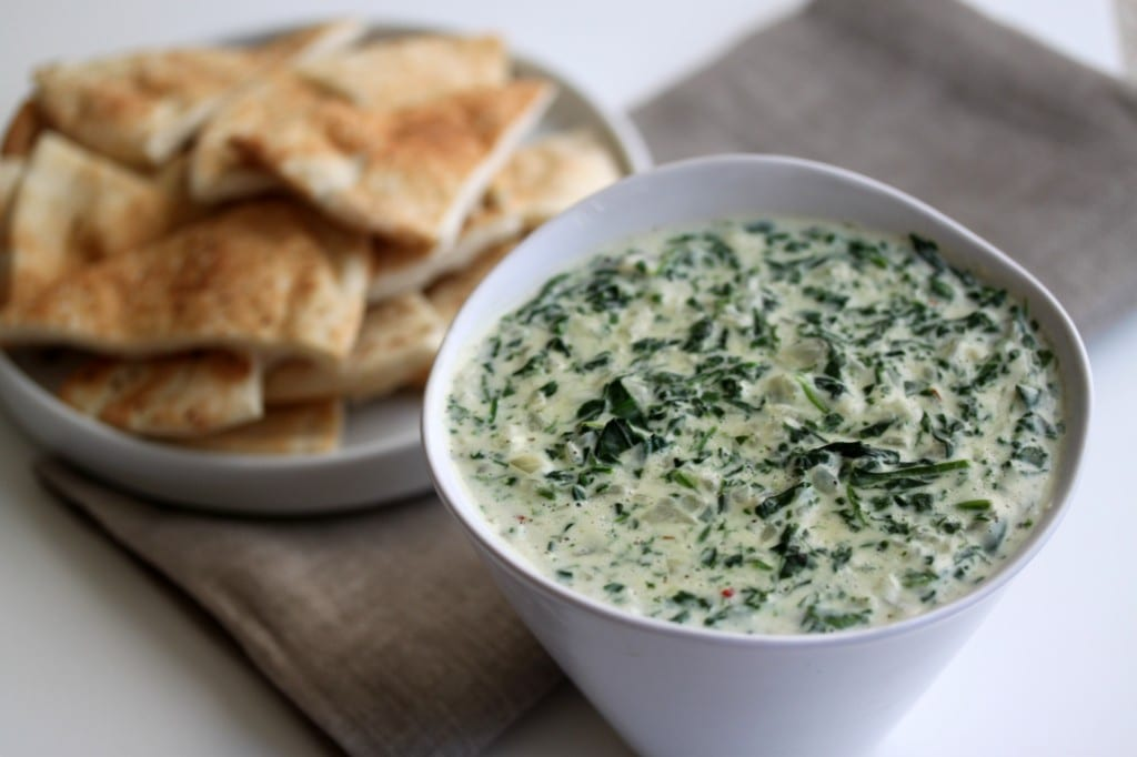 Fresh spinach dip recipes easy