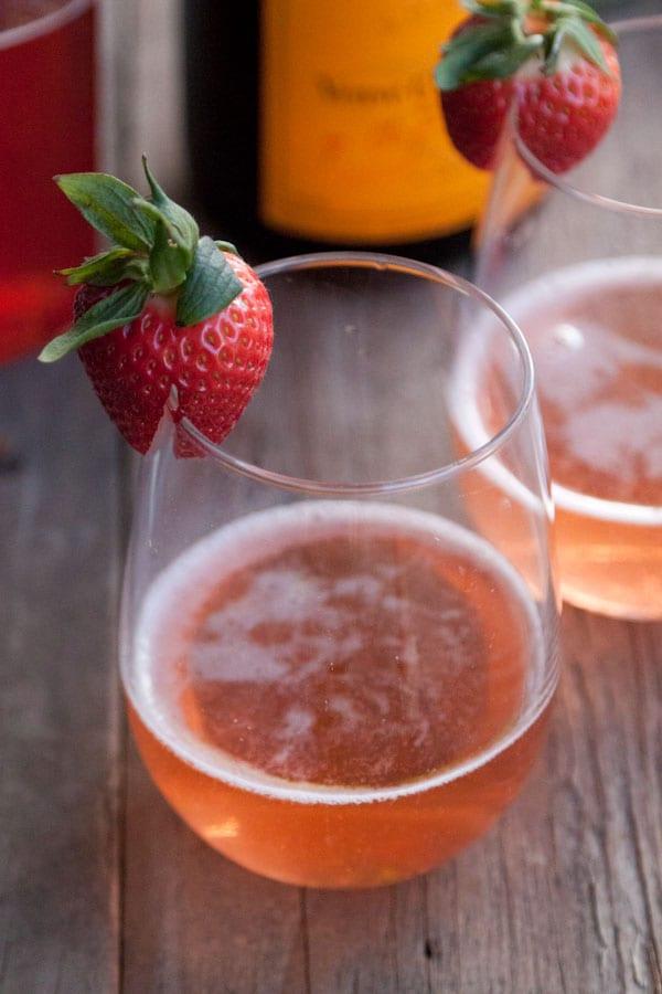 Strawberry Basil Sparkler Recipes — Dishmaps