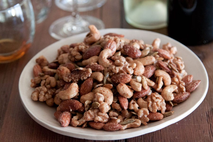Sweet Spicy Nuts