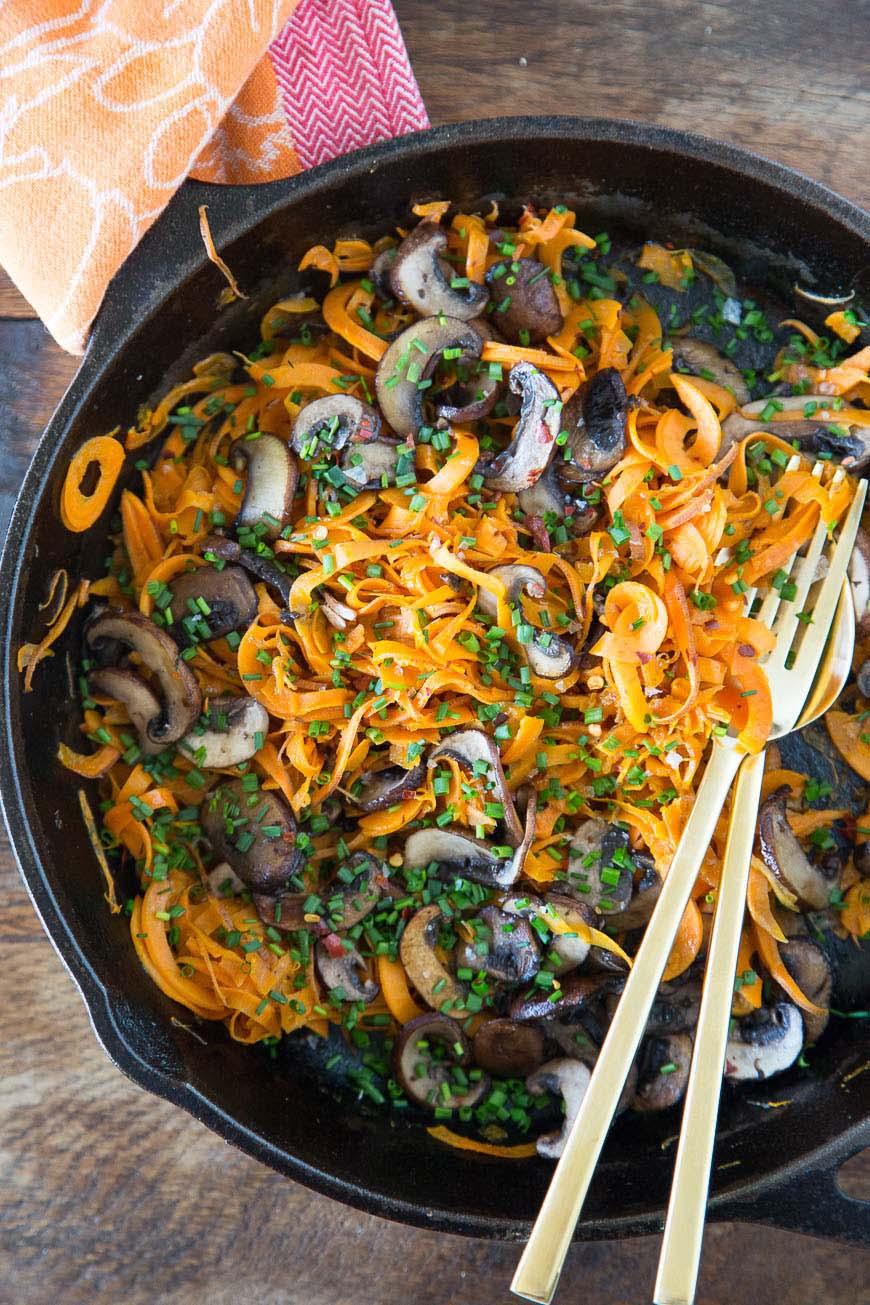 Sweetpotato Noodles / Healthy Recipes to Kick Start 2015