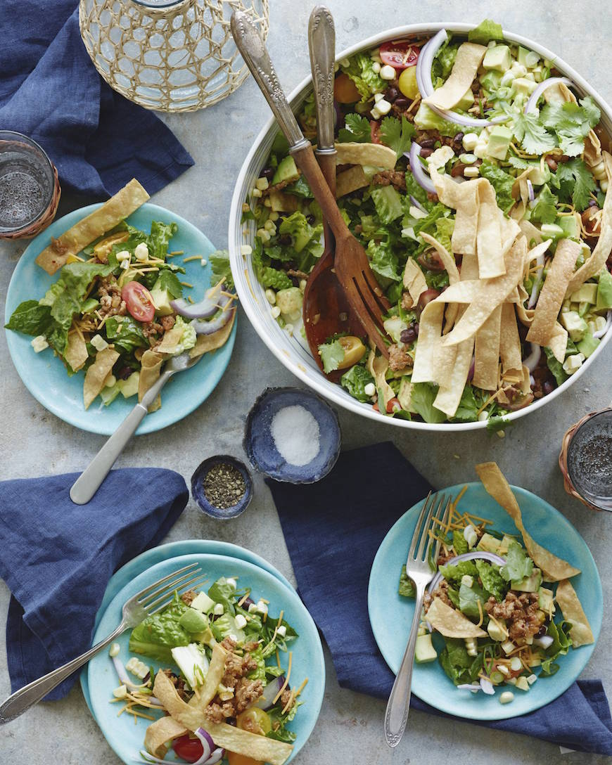 Taco Salad from www.whatsgabycooking.com (@whatsgabycookin)