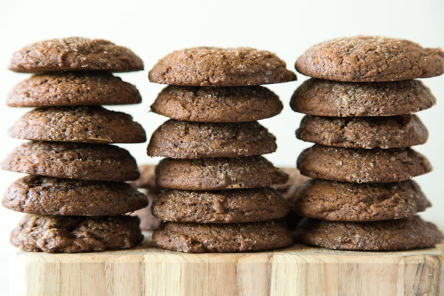 Molasses Cookies - What's Gaby Cooking