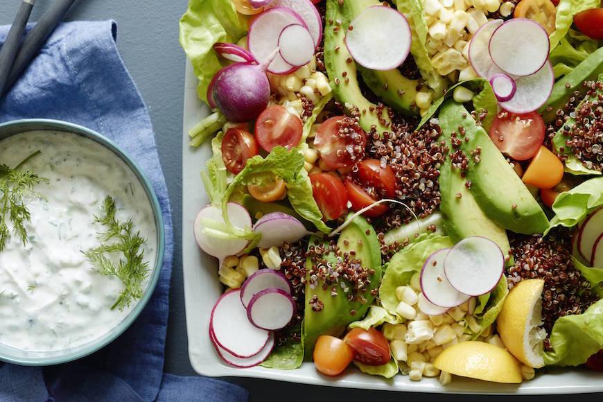 Tzatziki Quinoa Salad