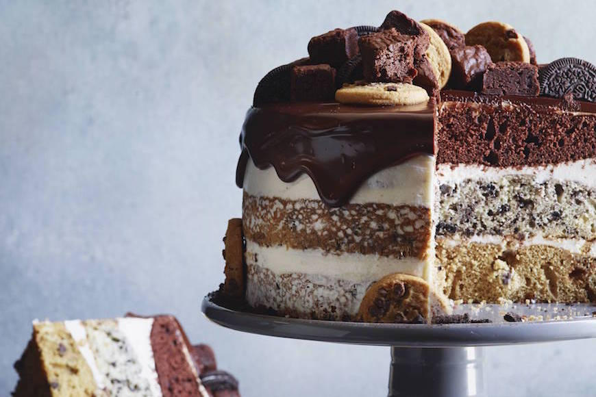Easy Triple Layer Chocolate Cake Recipe