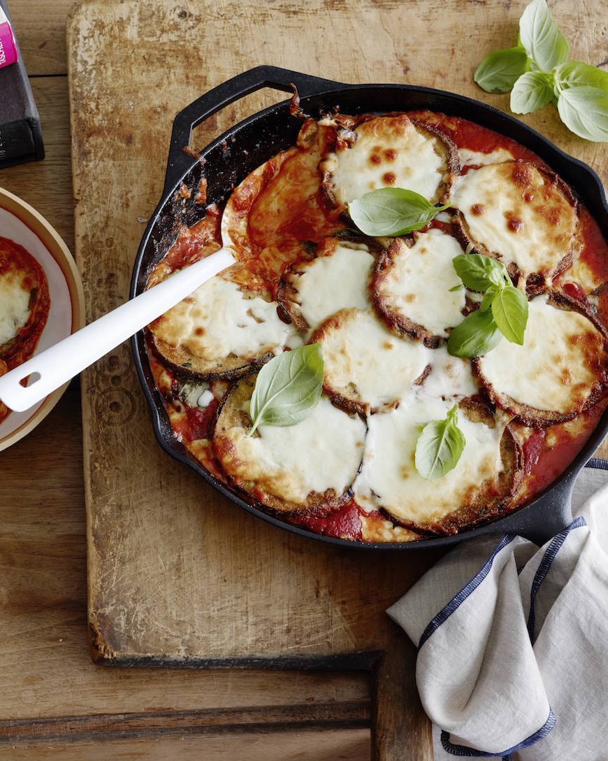 Stacked Eggplant Parmesan from www.whatsgabycooking.com (@whatsgabycookin)