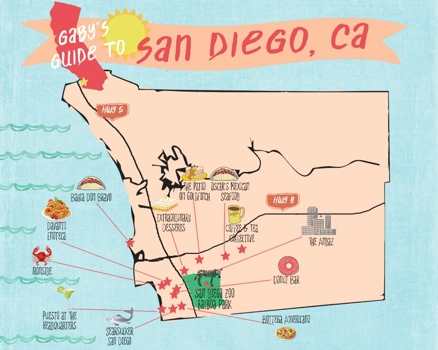 Gaby's Guide to San Diego - where to eat, stay, see and do!