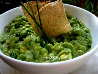 print the best guacamole ingredients 3 avocados 1 lemon juiced 1 4 red ...