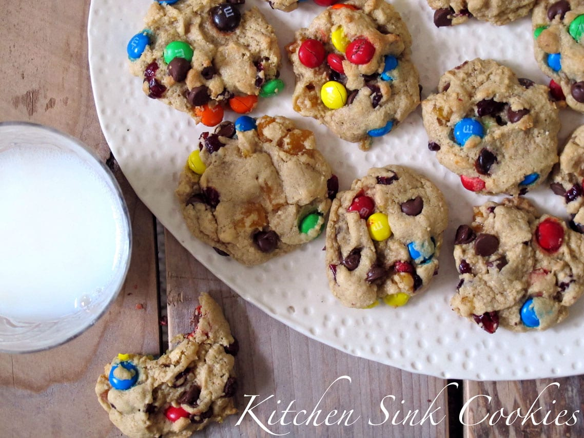 kitchen sink cookies Dad s Kitchen Sink Cookies