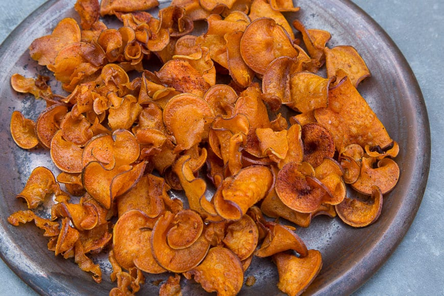BBQ Sweetpotato Chips
